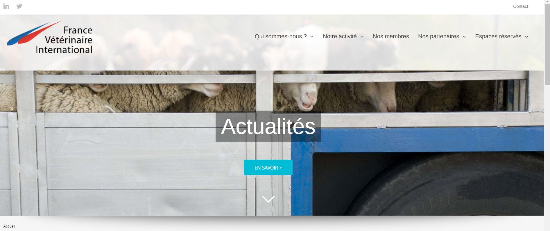 Ouverture du nouveau site internet de FVI